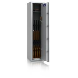 Waffenschrank WSL0-3/5, DB, Widerstandsgrad 0, 5 Waffenhalter
