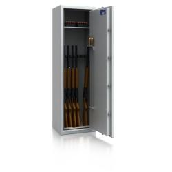 Waffenschrank WSL0-4/7, DB, Widerstandsgrad 0, 7 Waffenhalter
