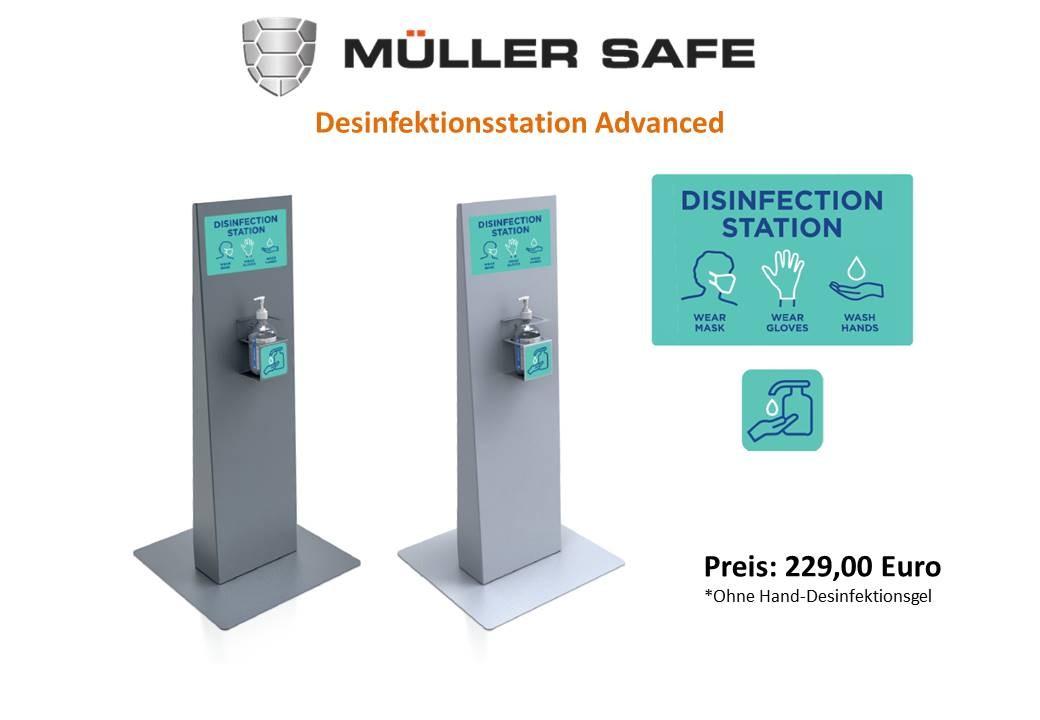 Desinfektionsstation Advanced